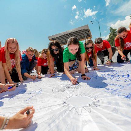 """Розпочав роботу 3-й літній табір """"YOU Camp – Youth, Opportunities, Unity"""", організований програмою «Завтра.UA» Фонду Віктора Пінчука за підтримки Фундації Coca-Cola"""